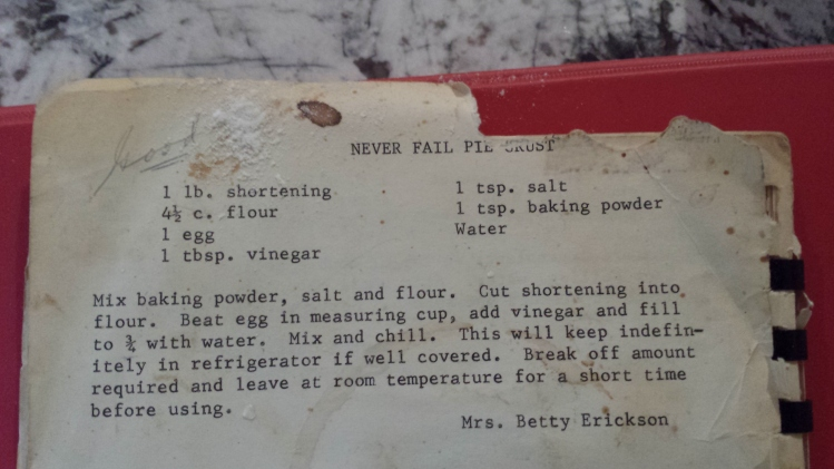 From my Grandma's old recipe book--so you know it's good.